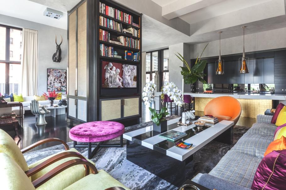 Дизайнерская квартира от Джеми Дрейка фото 11