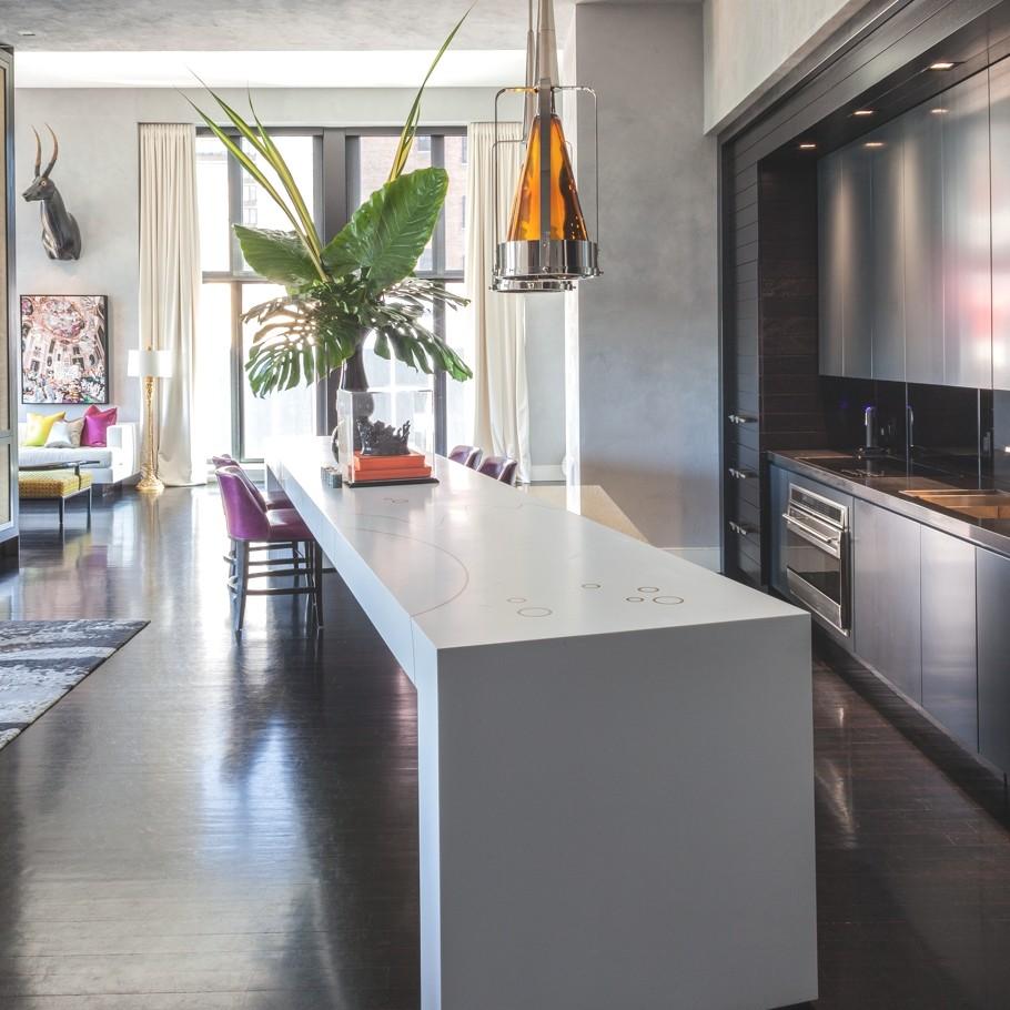 Дизайнерская квартира от Джеми Дрейка фото 5