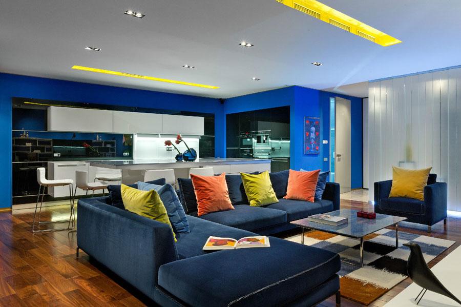 Двухкомнатная квартира в стиле поп-арт