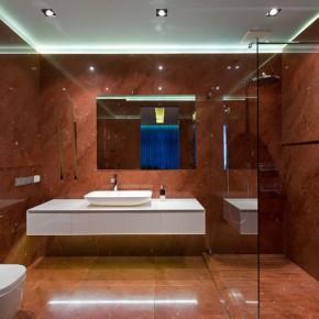 Дизайн ванной комнаты – фото 436