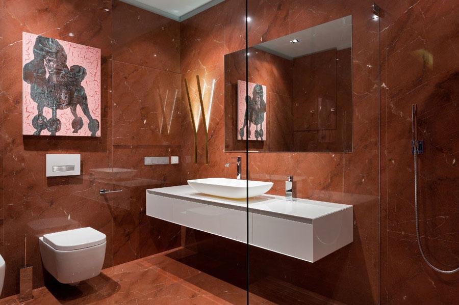 ванная квартиры в стиле поп-арт