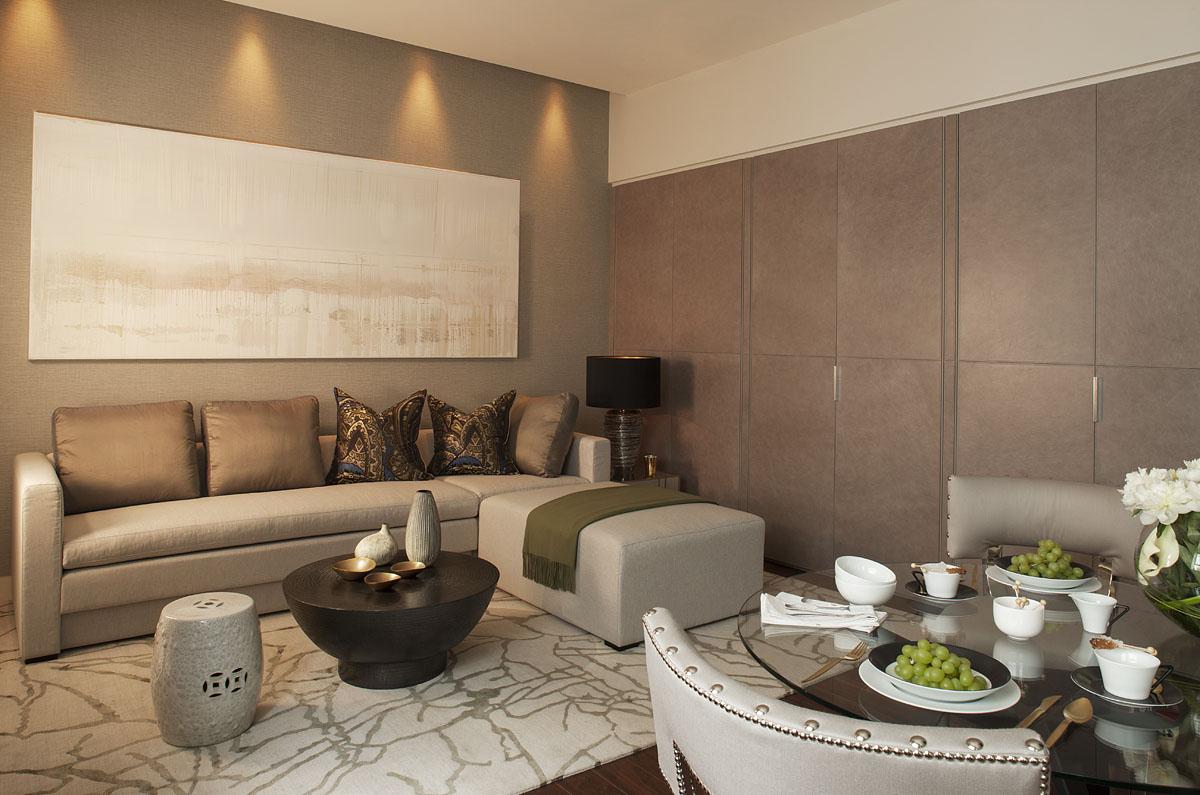 Интерьер четырехкомнатной квартиры