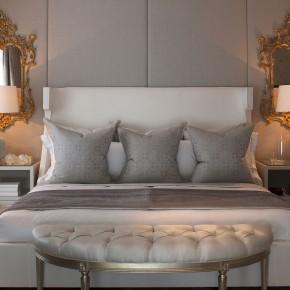 Дизайн проект спальни – фото 467