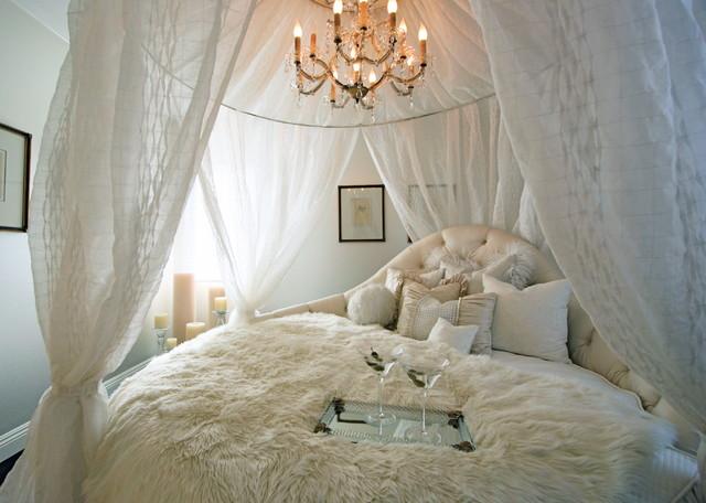 Круглая кровать — изюминка (1)