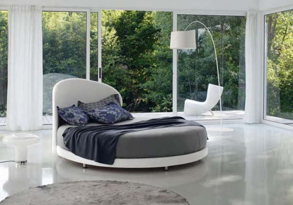 Круглая кровать — изюминка (11)