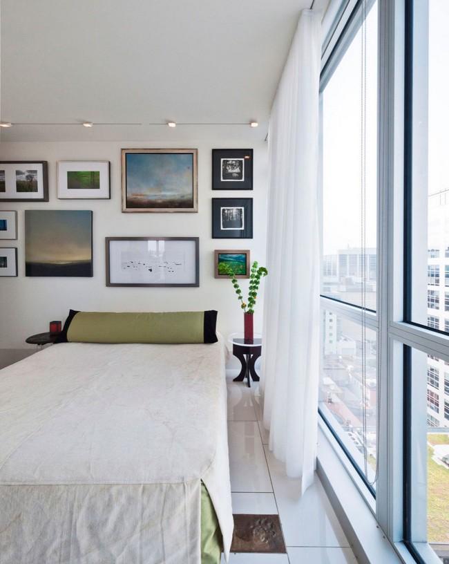переделка трехкомнатной квартиры - спальня