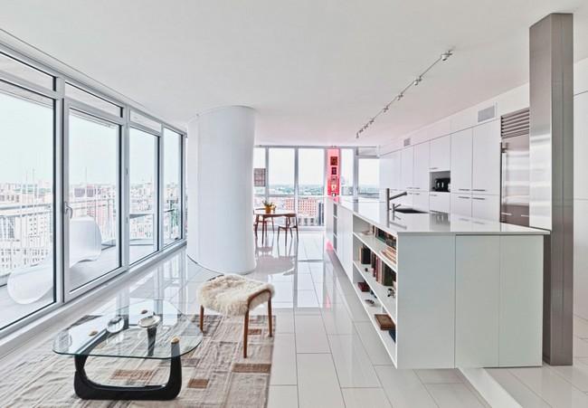 переделка трехкомнатной квартиры - кухня