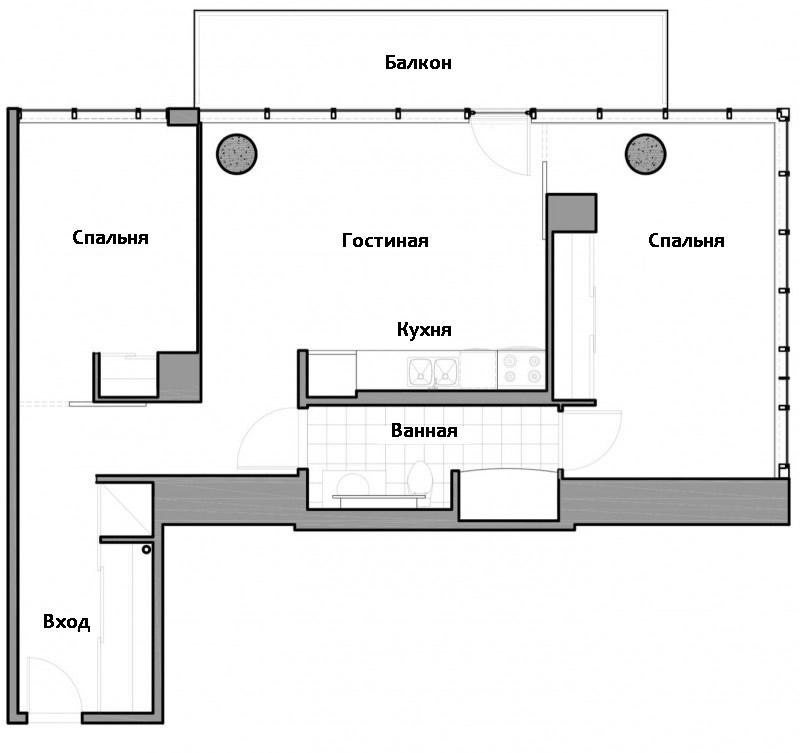 Квартира до переделки