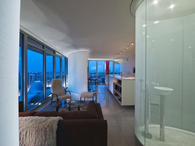 переделка трехкомнатной квартиры - гостиная