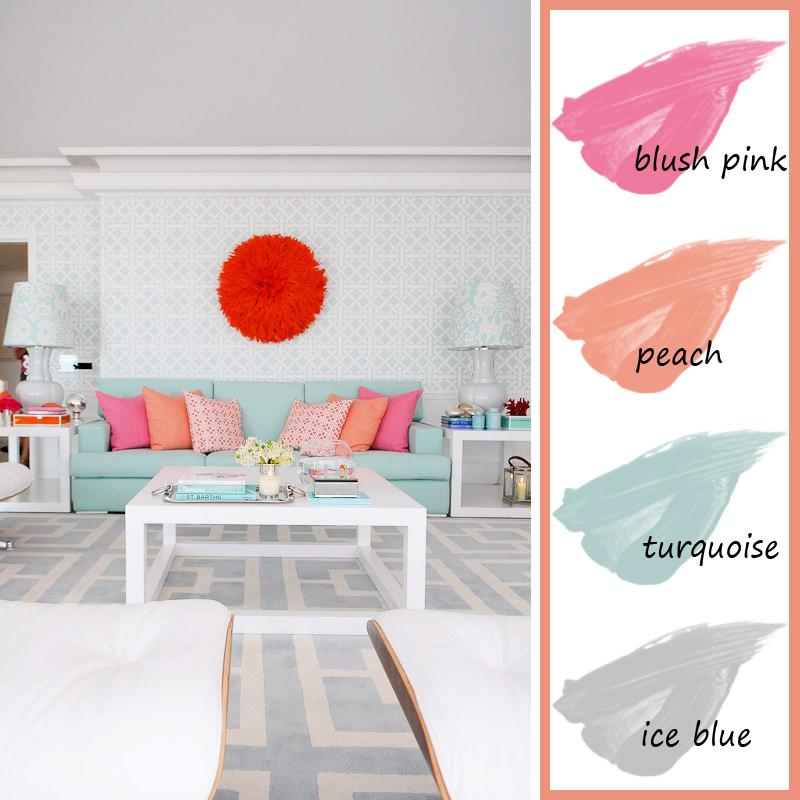 цветовая палитра комнаты