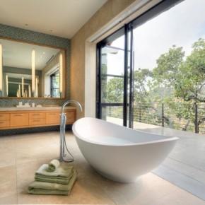 Дизайн ванной – фото 397