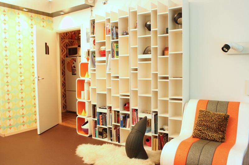 Футуристический интерьер квартиры