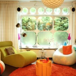 Гостиная комната – фото 405