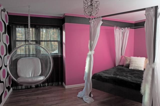 Спальня с подвесным креслом 5