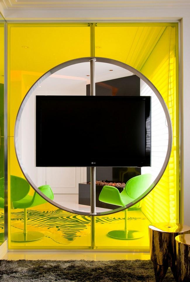Стильная квартира - разделение комнаты