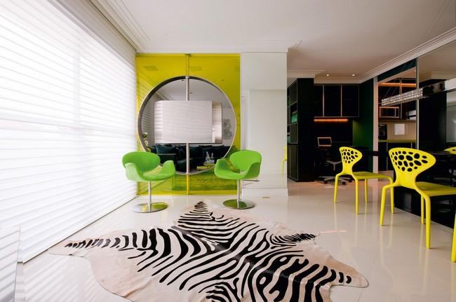 Стильная квартира - столовая комната