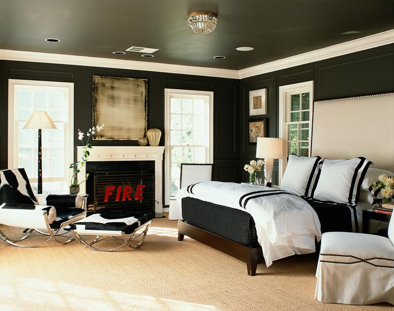 современная спальня Филипп Ниммо дизайна