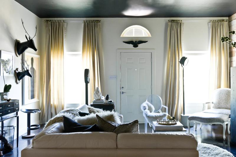 эклектичный гостиная Джейми Laubhan-Оливер