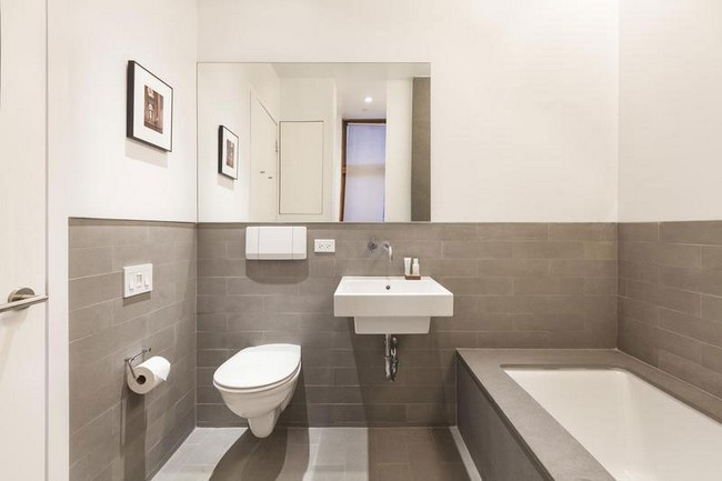Интерьер элегантной квартиры в Сохо - ванная комната