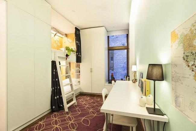 Интерьер элегантной квартиры в Сохо - детская комната