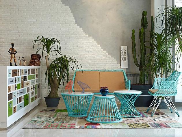 проект квартиры - место для чтения
