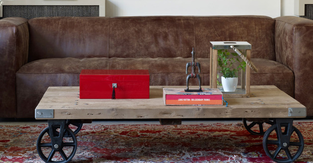 проект квартиры - самодельная мебель