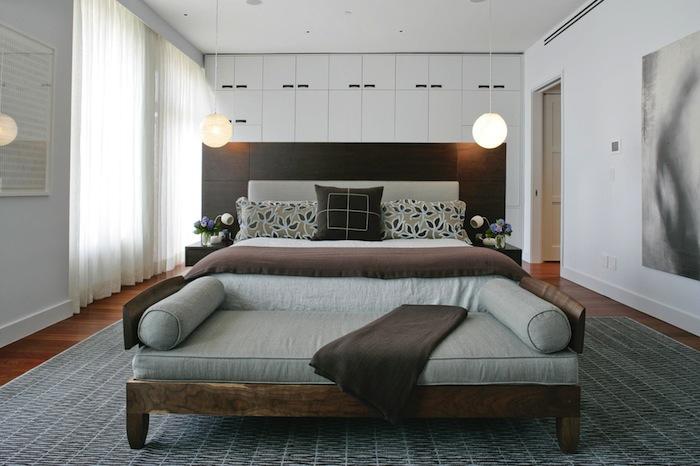 Стильный дизайн спальни 2