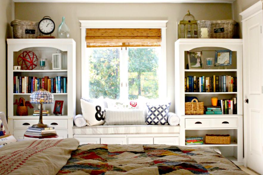 Интерьер спальни в стиле пэчворк фото 2