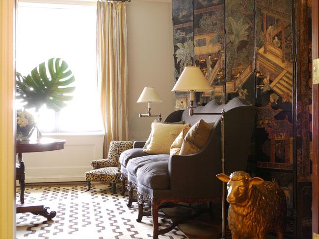 Интерьер двухуровневой квартиры фото -4