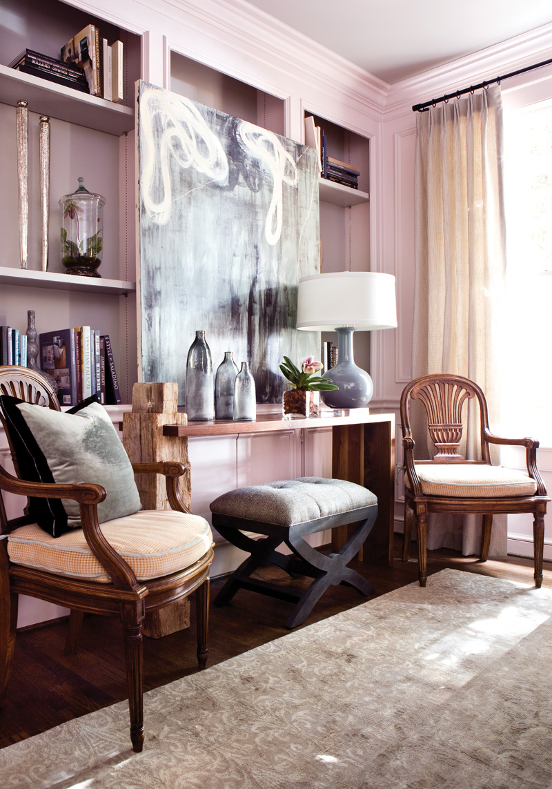 Изысканный интерьер гостиной фото 5