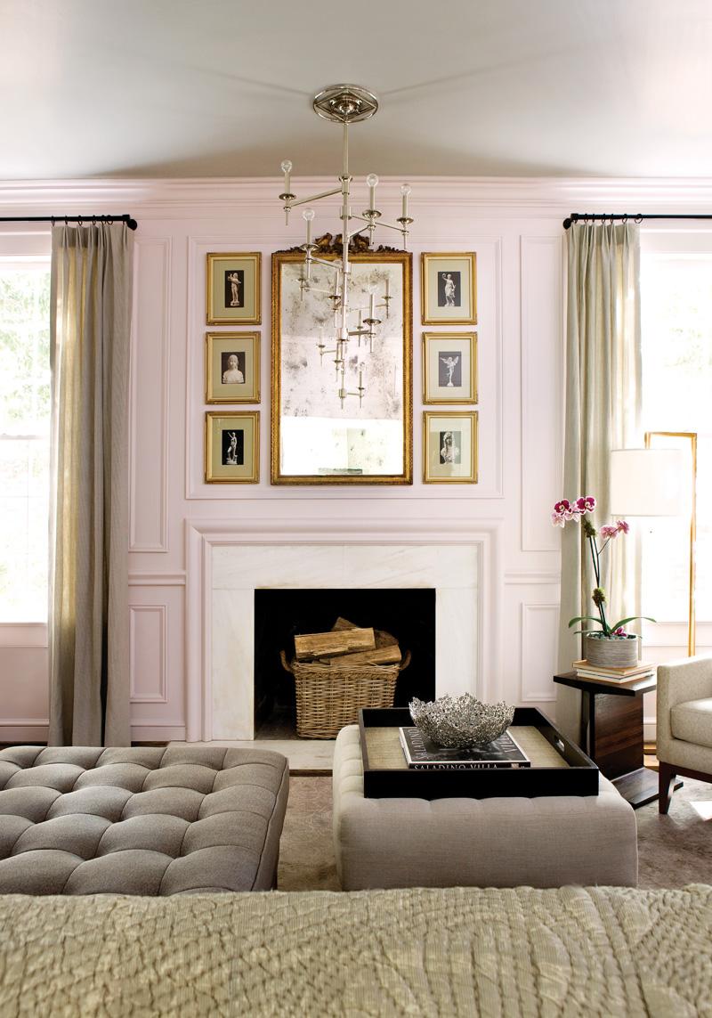Изысканный интерьер гостиной фото 2