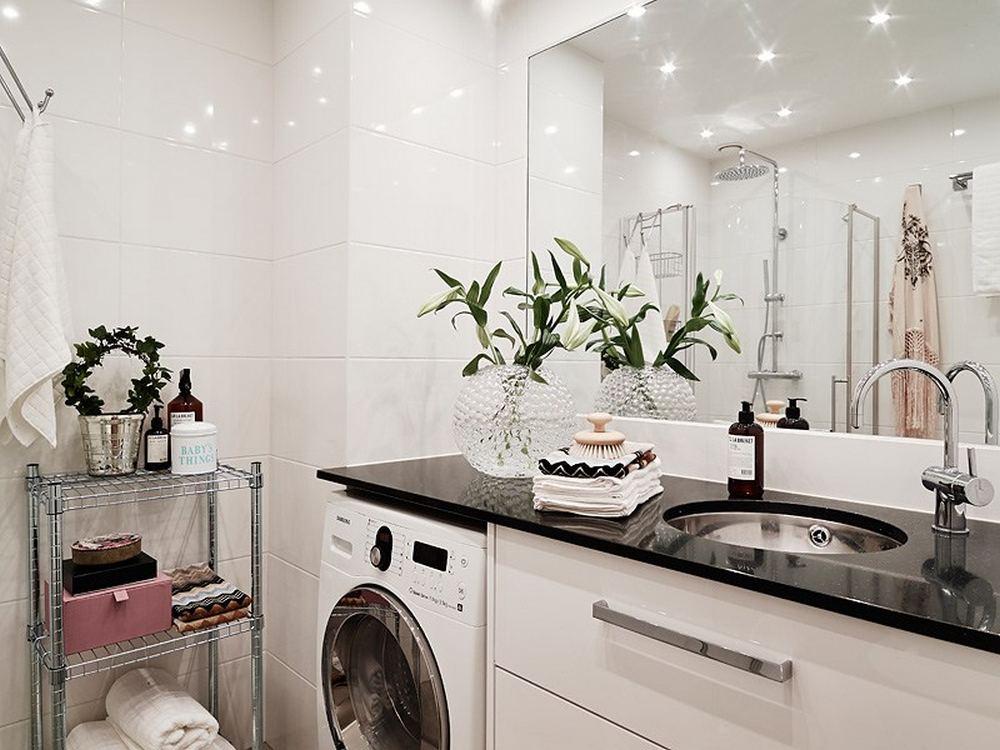 ванная и туалет в двухкомнатной квартире