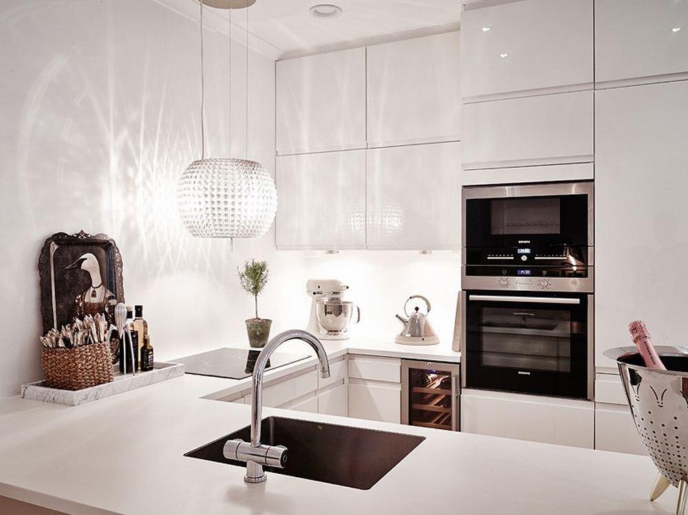 проект двухкомнатной квартиры - кухня