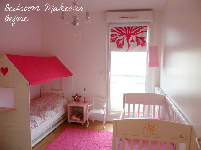 Детская комната для двух девочек до ремонта