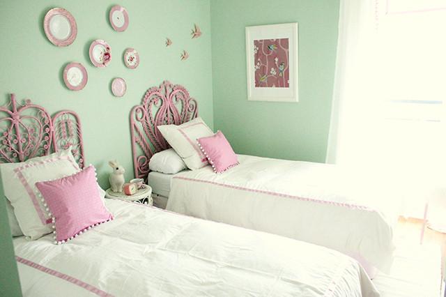 Детская комната для двух девочек после ремонта