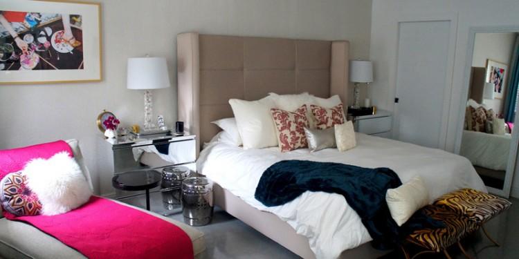 Интерьер спальни с мебелью из Икеа (6)