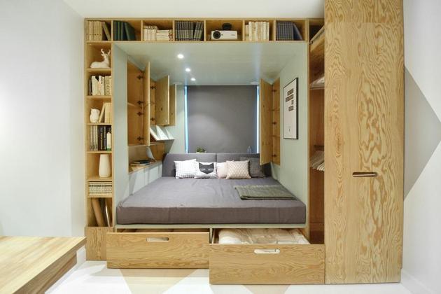 Дизайн комнаты 14 кв. м  фото (4)
