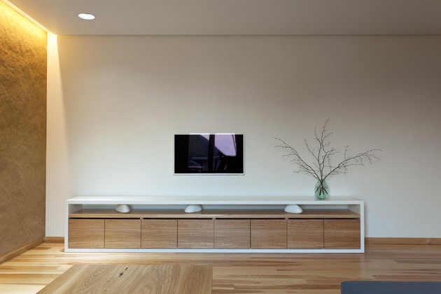 Эко интерьер квартиры с открытой планировкой