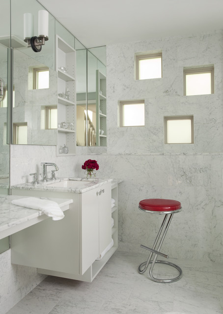 Окно в ванной комнате фото (10)