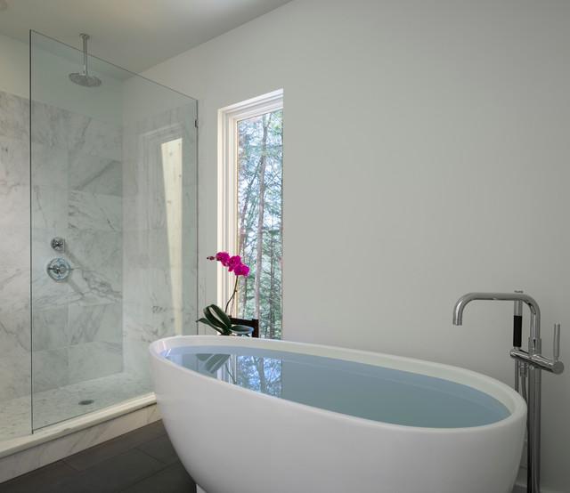 Окно в ванной комнате фото (14)
