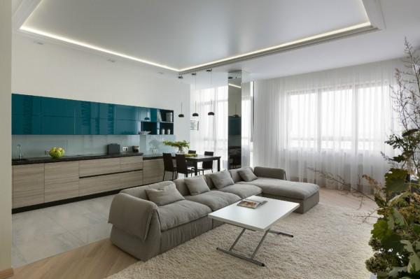 Просторная трехкомнатная квартира (4)