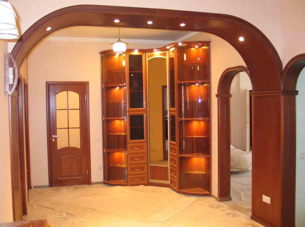 Дверной проем арка своими руками фото