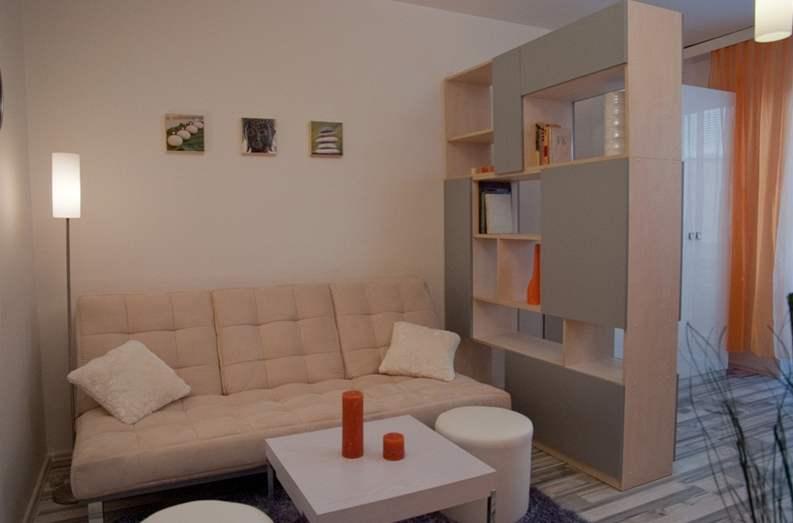 Идеи с разделением одной комнаты на две фото