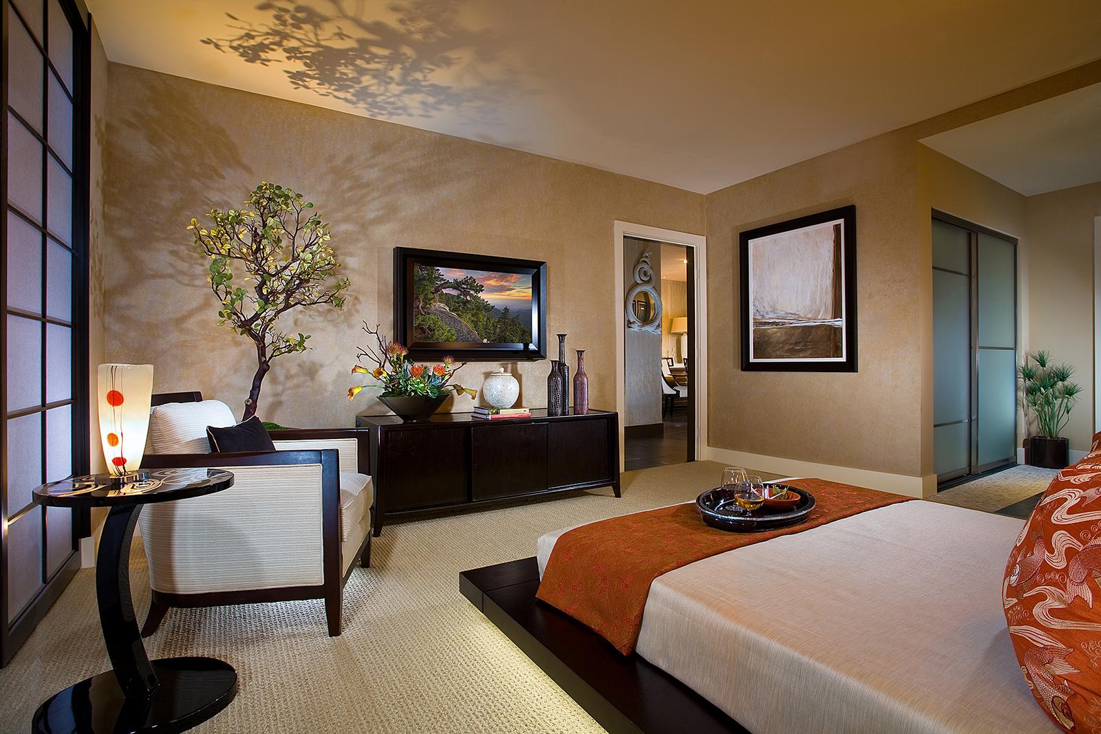 Oriental bedroom ideas