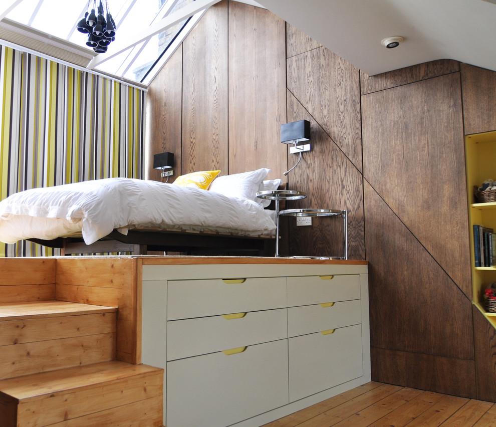 Спальня под потолком своими руками 70