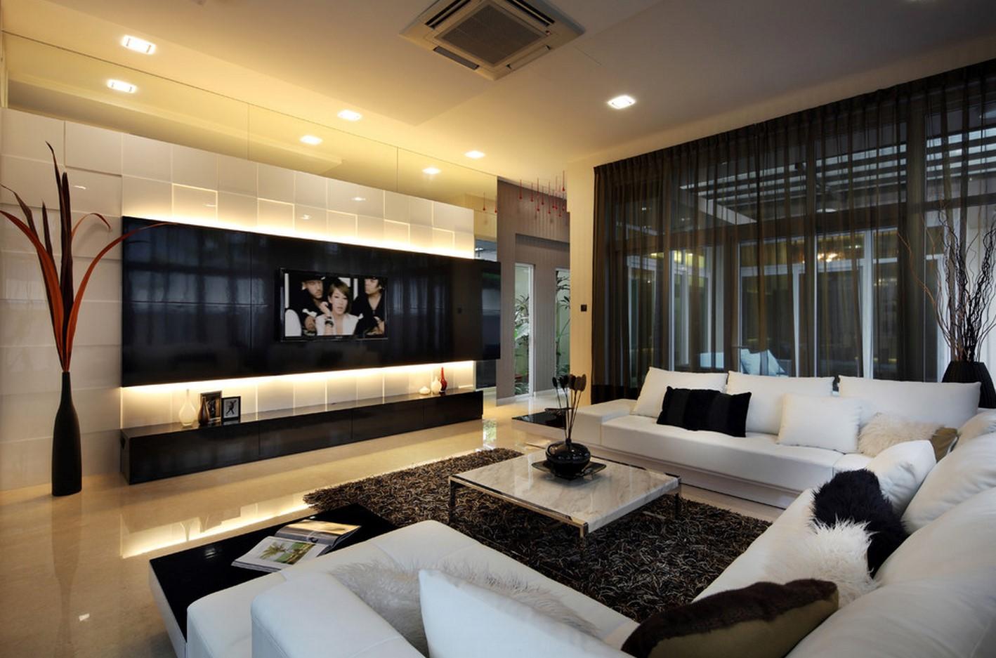 Фото дизайна современных залов