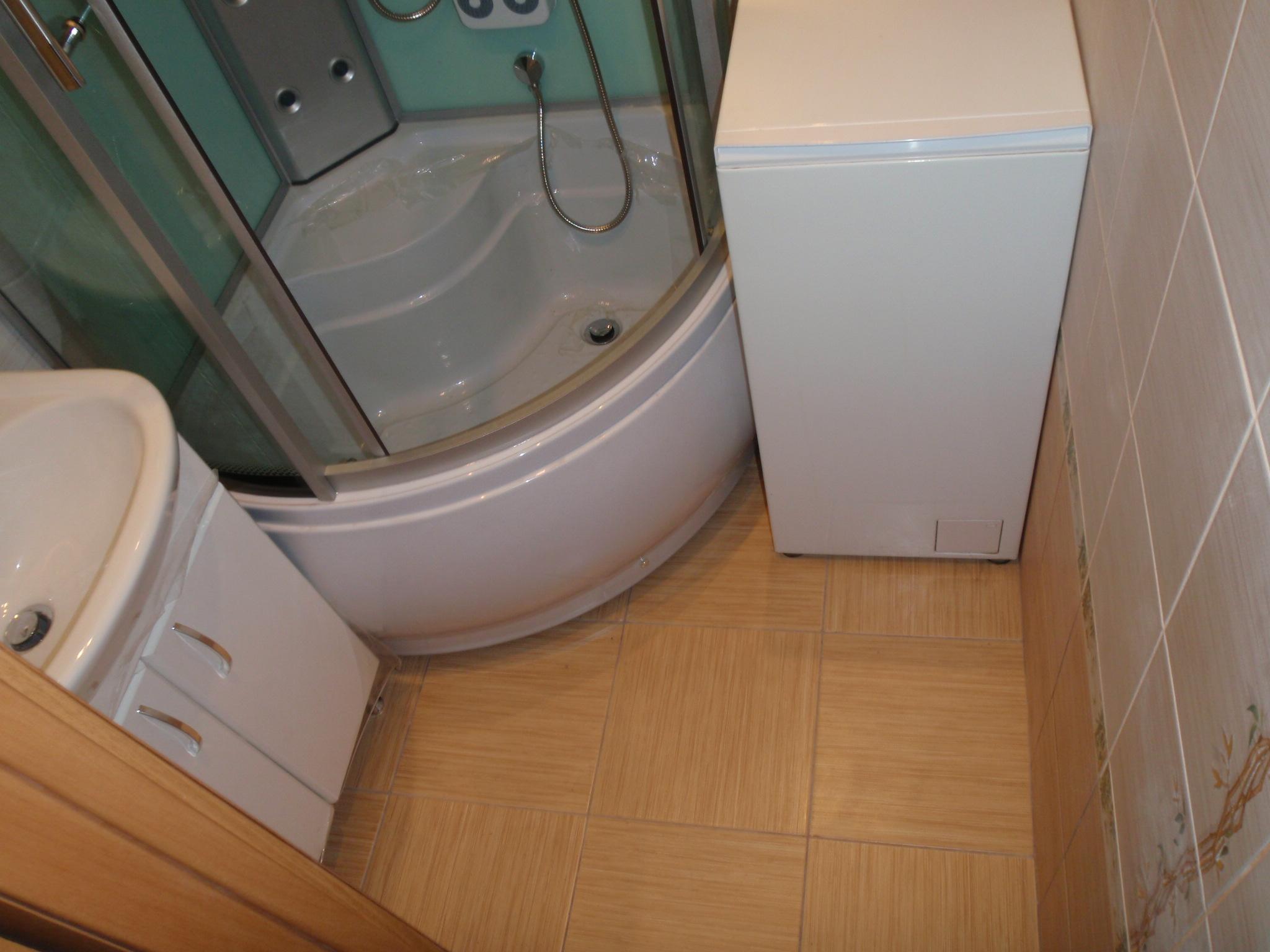 Ремонт ванной комнаты малых размеров