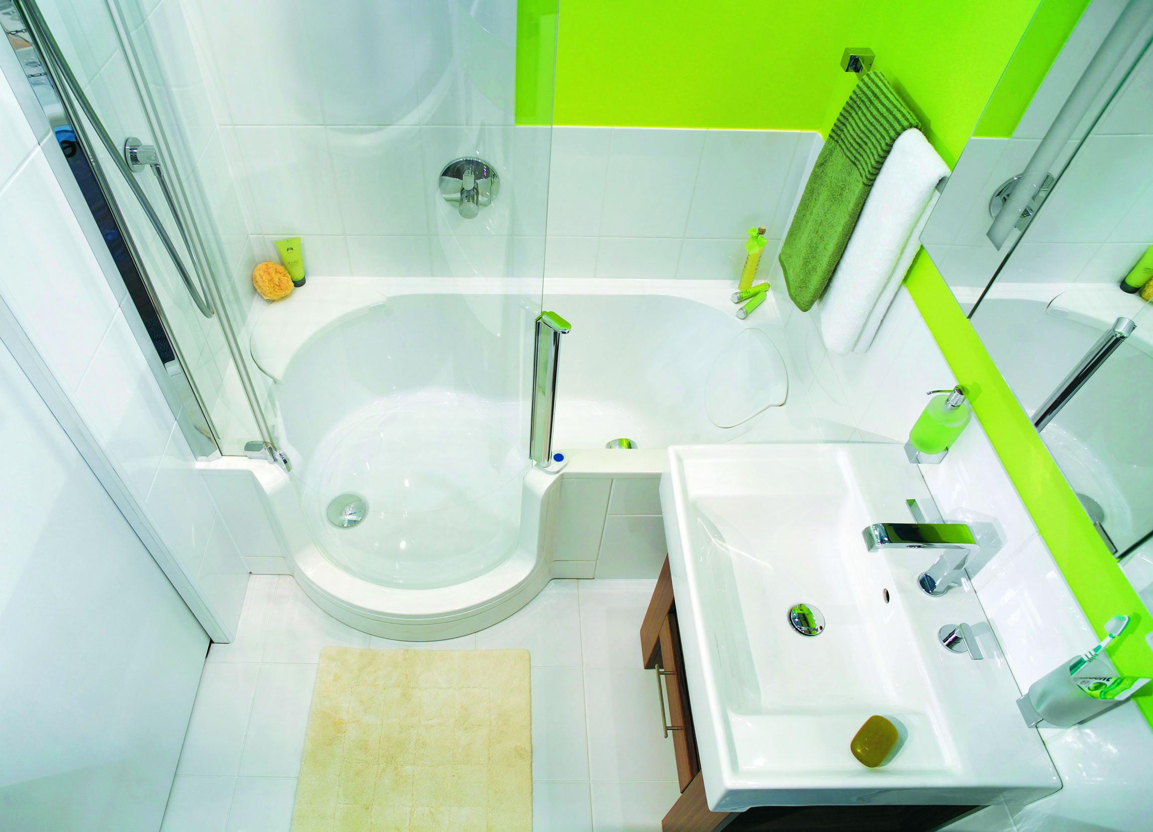 Дизайн совмещенной ванной комнаты небольшого размера