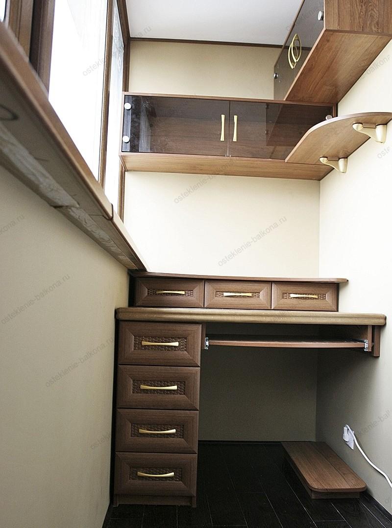 Проект мебели на балкон. - остекление - каталог статей - рем.