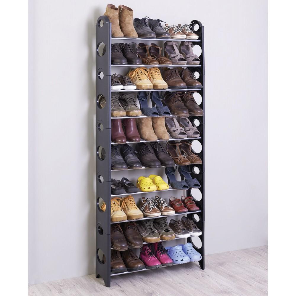 Полка для обуви в узкий коридор своими руками